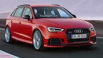 Audi RS3 Sportback Rendering