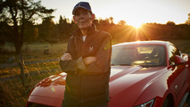 A Mustang for his 97th birthday