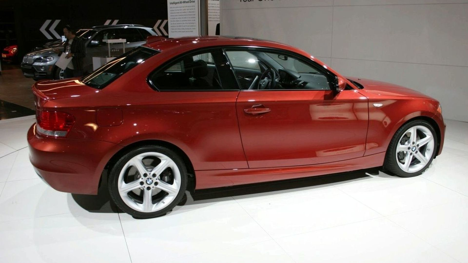 BMW 1 Series Coupe Makes US Debut