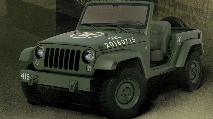 Jeep Wrangler 75th Salute Concept : Mamie fait de la résistance