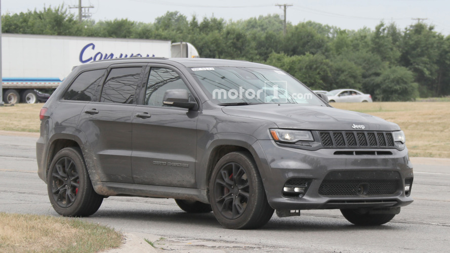 Hellcat-powered Jeep Grand Cherokee will debut in New York