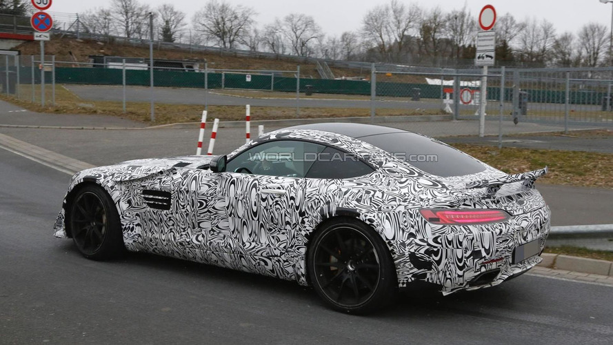 Road-going Mercedes-AMG GT3 version spied with a more aggressive body