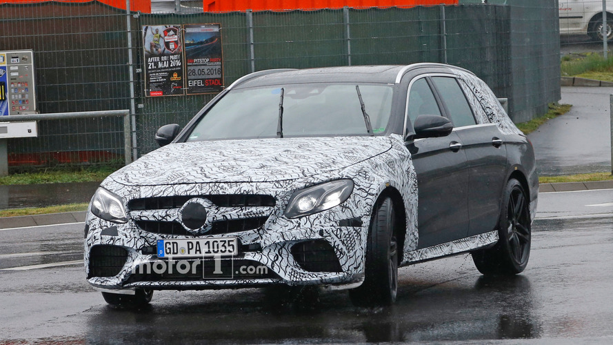 Mercedes-AMG E63 Wagon drops some camo for a trip to the 'Ring