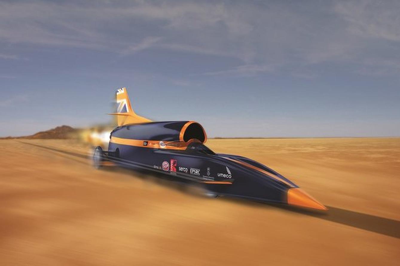 Bloodhound SSC 1,000-MPH Rocket Car Completes First Successful Test-Firing