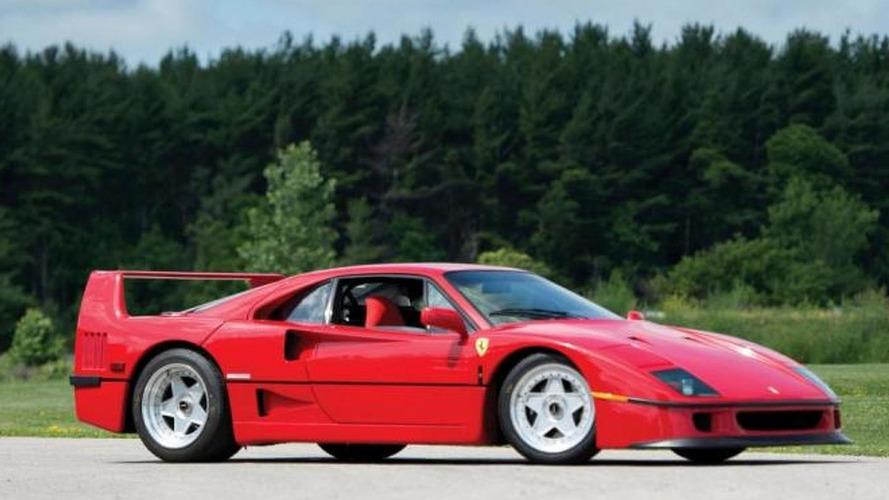 Rod Stewart's Ferrari F40 heading to auction