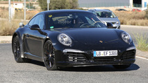 2018 Porsche 911 mule spied for the first time