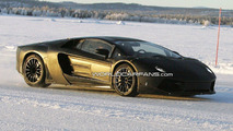 Lamborghini Jota Urus winter testing spy photos - 15.01.2010