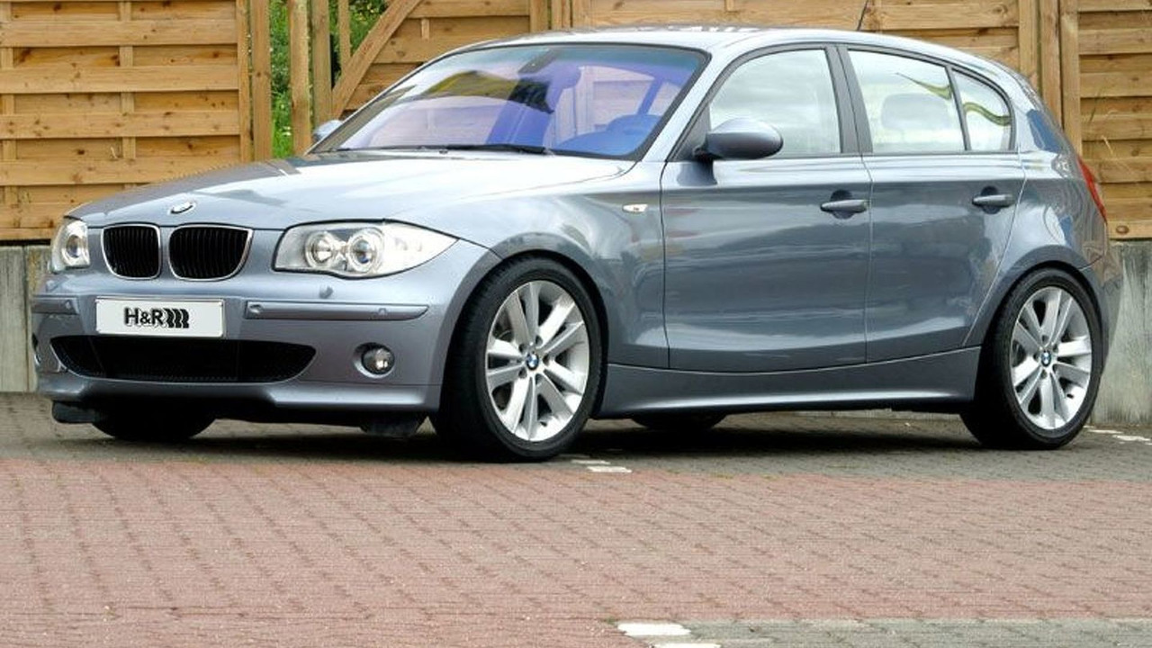 H&R Suspension Tuning for the New BMW 1 Series