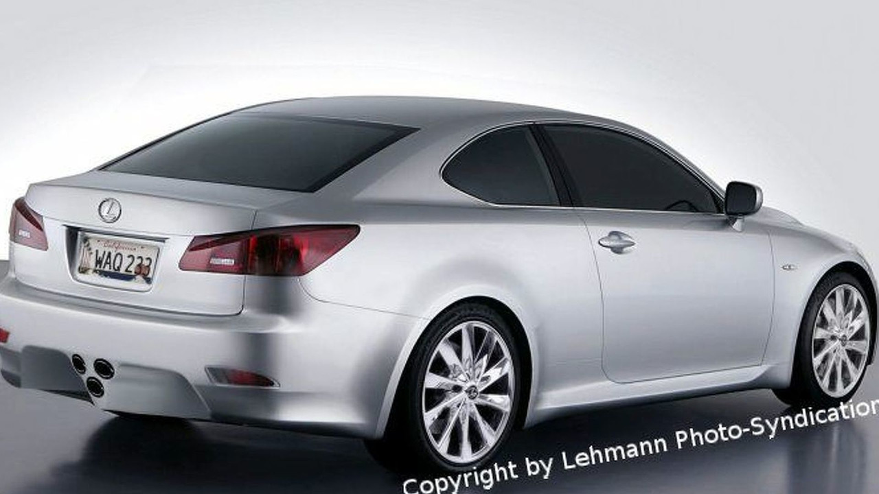 Lexus IS 500 Coupe Artist Impression
