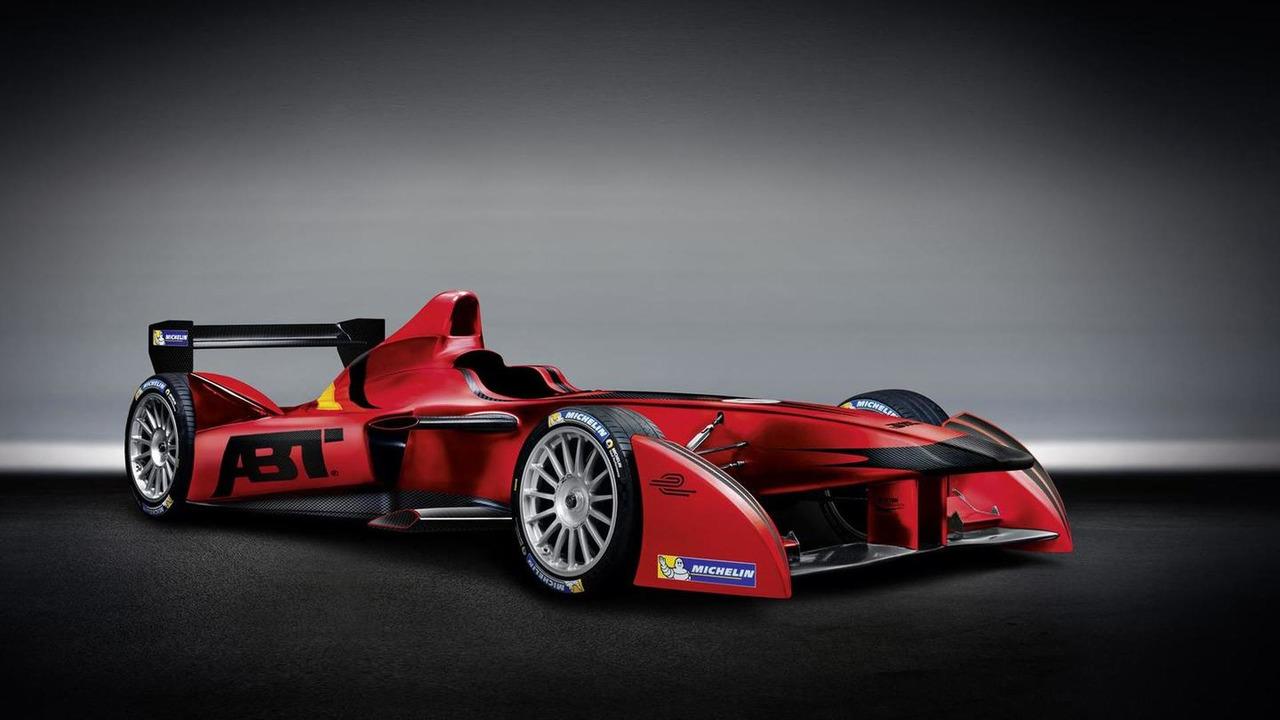 ABT Sportsline Formula E car 15.11.2013
