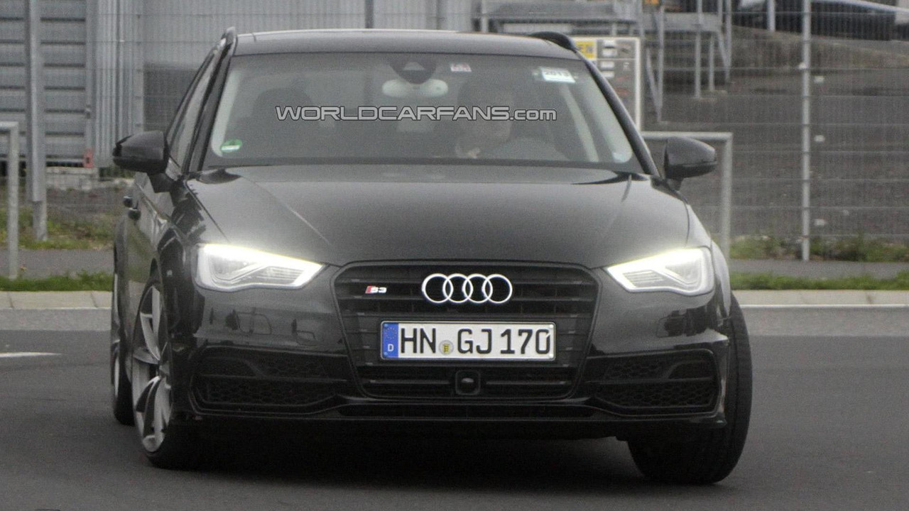 2014 Audi RS3 mule spy photo