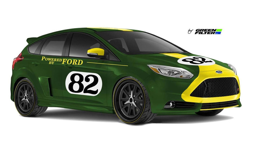 Ford teases four Focus STs for SEMA