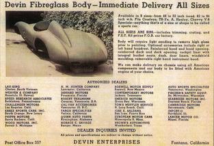 eBay Car of the Week: 1965 Devin D
