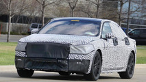 Lincoln Continental production version makes spy photo debut
