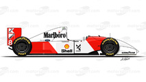 1993 - McLaren MP4/8