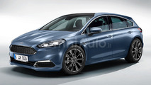 Posh 2018 Ford Focus gets Mondeo traits in speculative render