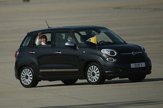 Holy Moly! You Can Buy Pope Francis' Fiat 500L Hatchback
