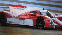 First images of Toyota Le Mans hybrid race car released