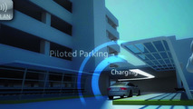 Audi data exchange guides vehicle to free parking space via wlan 01.03.2012