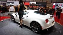 Alfa Romeo 4C Launch Edition announced in Geneva