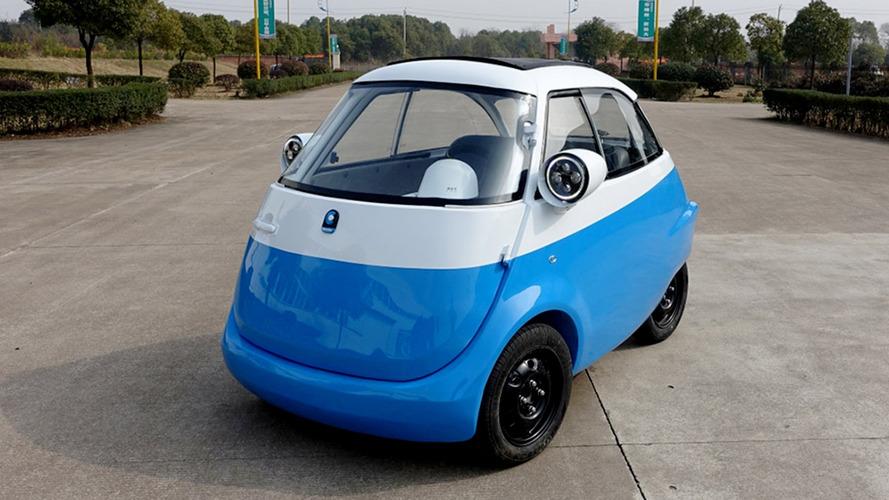 Mini carro elétrico estreia em Genebra como a reencarnação do Romi-Isetta