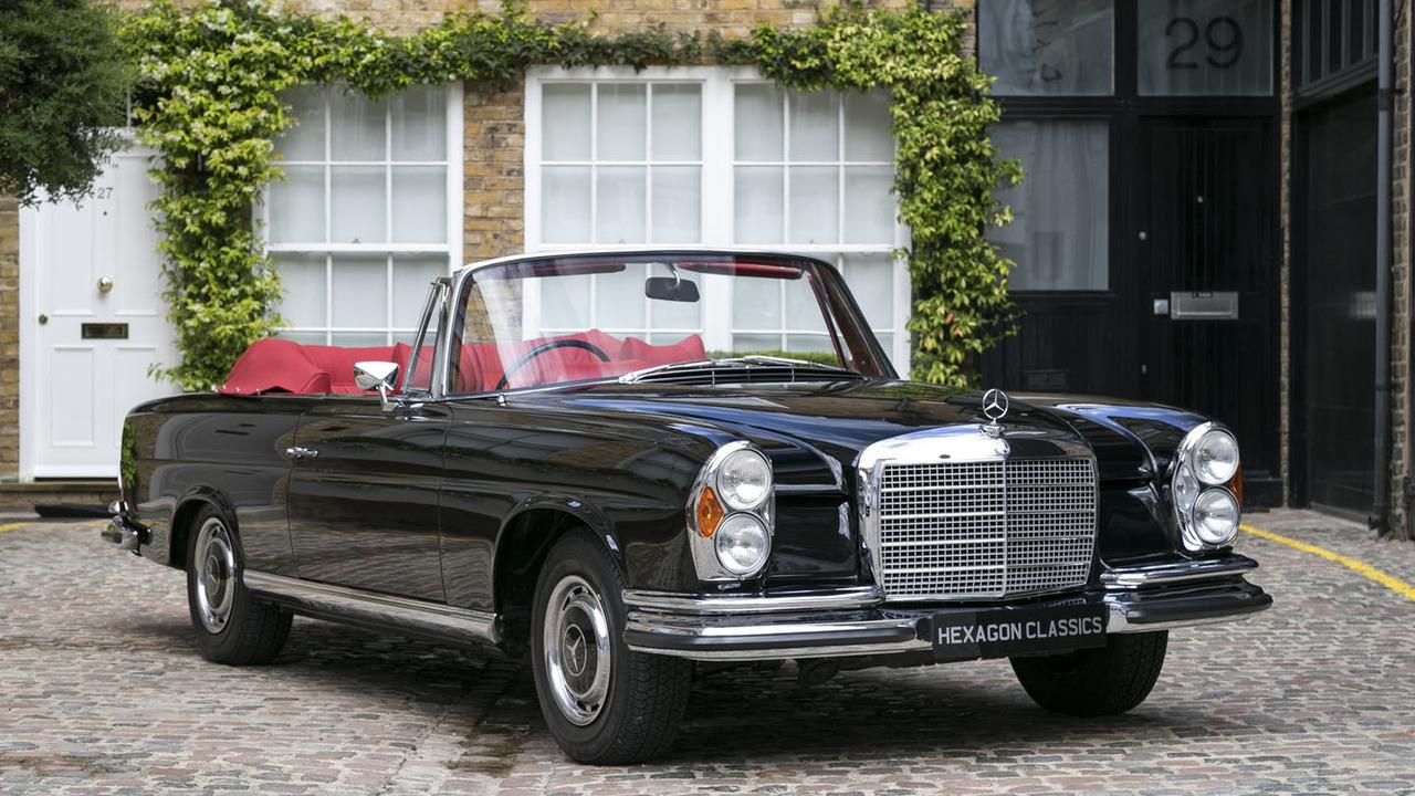 rare and lovely rhd 1970 mercedes 280 se 3 5 cabriolet for sale. Black Bedroom Furniture Sets. Home Design Ideas