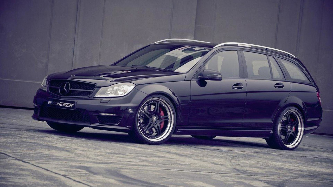 Mercedes-Benz C63 T AMG by Kicherer 19.10.2011