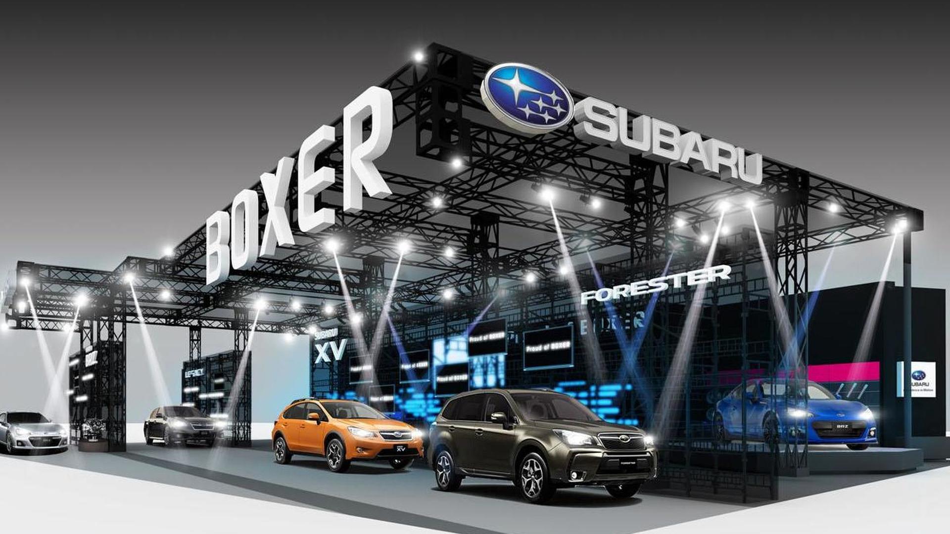 Subaru announces their Tokyo Auto Salon lineup