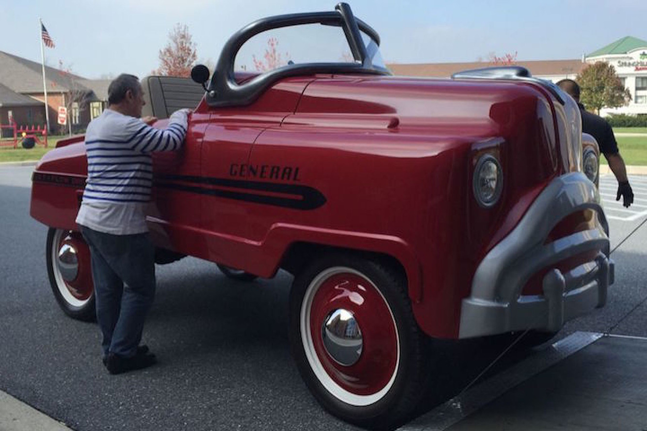 This Oversized, Street-Legal Pedal Car is Every Man-Child's Dream