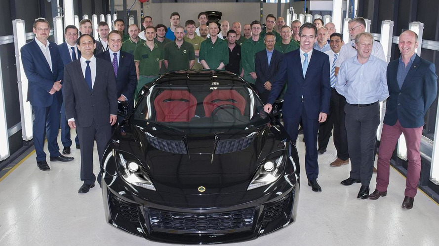 Lotus Evora 400 goes into production