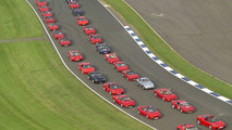 Ferrari owners gathering