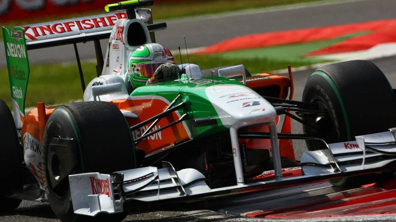 Vitantonio Liuzzi (ITA), Force India F1 Team, VJM-02 - Formula 1 World Championship, Rd 13, Italian Grand Prix, Saturday Qualifying, 12.09.2009 Monza, Italy