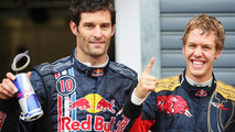 Red Bull wants Webber for 2011, Vettel for future