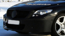 Mercedes S-Class Coupe AMG Facelift Spy Photo
