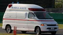 Alguersuari unhurt after 130R crash