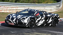 McLaren P11 spied at the Nürburgring