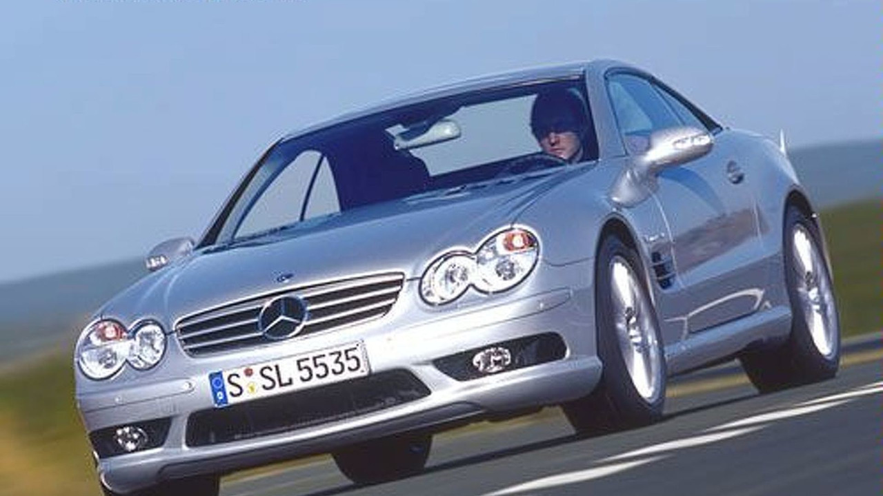 MB  SL55 AMG Roadster