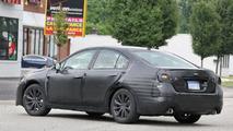 2015 Subaru Legacy sedan spied testing in Michigan