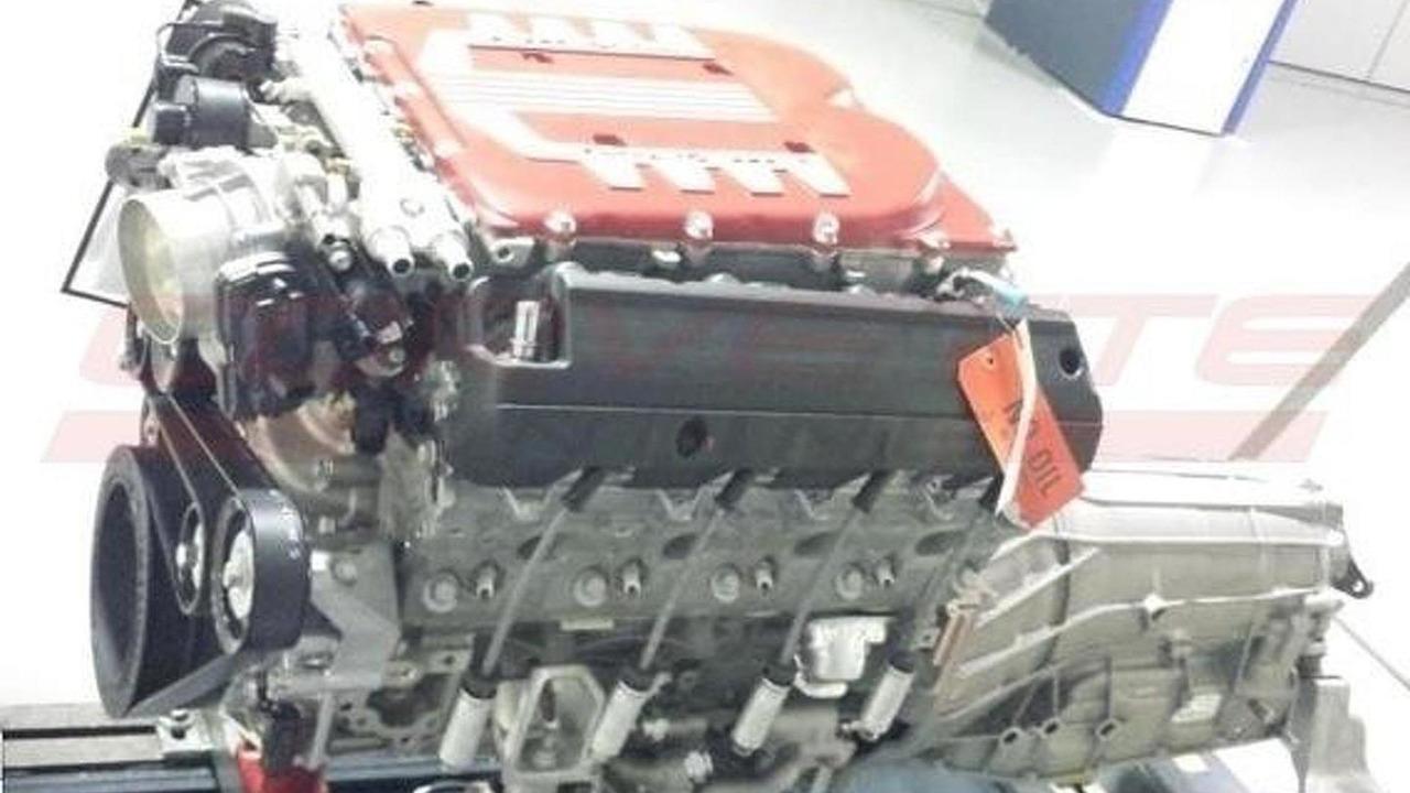 Rumored supercharged 6.2-liter LT1 V8 engine for Corvette ZR1 successor 08.10.2013