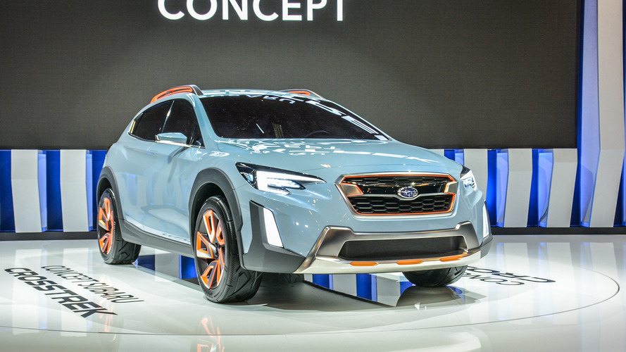Sporty, rugged Subaru Crosstrek concept debuts in North America