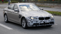 2014 BMW 5-Series facelift spied with minor updates