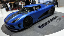 Updated 2013 Koenigsegg Agera R live in Geneva
