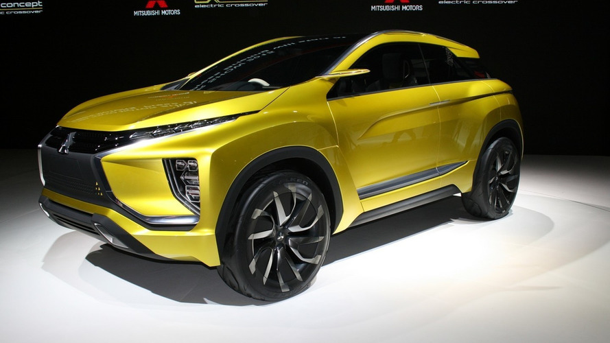Mitsubishi eX concept introduced in Tokyo with pure electric AWD setup [live pics]