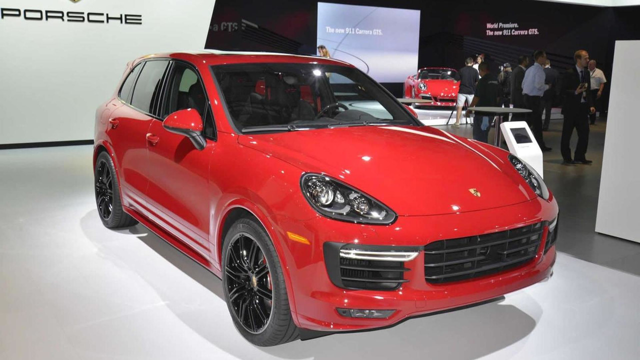 2015 Porsche Cayenne GTS at Los Angeles Auto Show
