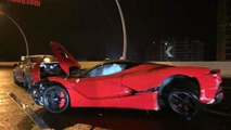 LaFerrari crash in Shanghai