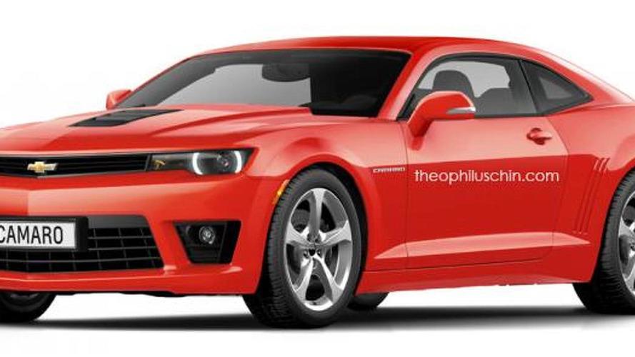 2016 Chevrolet Camaro renders show how it might look