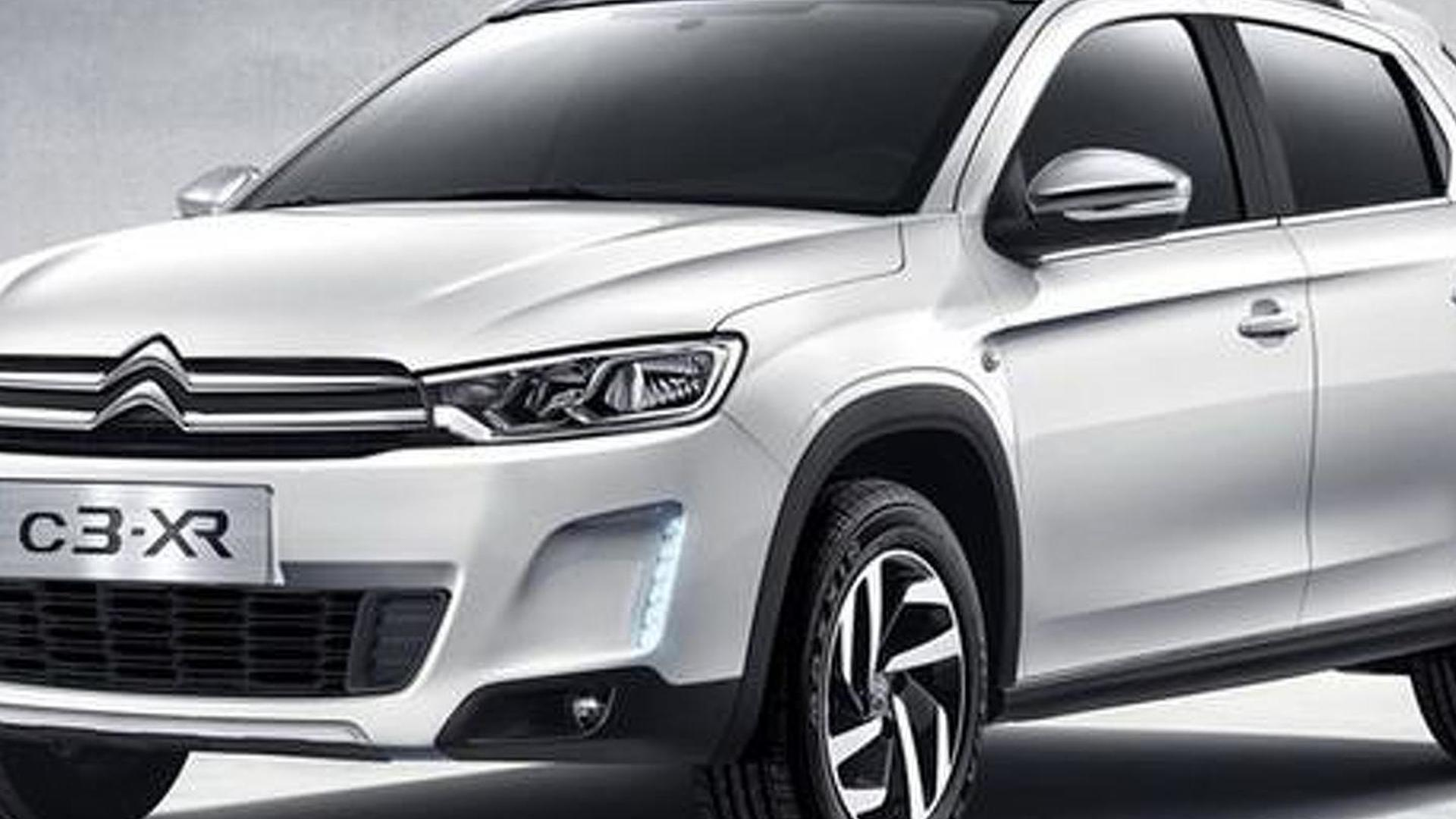 Citroen C3-XR first official pictures released ahead of November debut