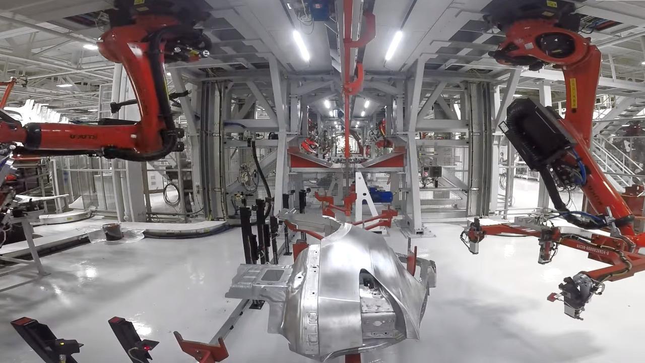 Tesla Model X production