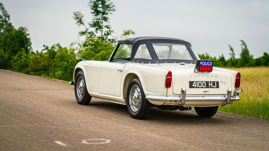 Only surviving 1962 Triumph TR4 Police Cruiser for sale