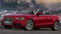 2013 Audi A3 hatchback and cabriolet rendered
